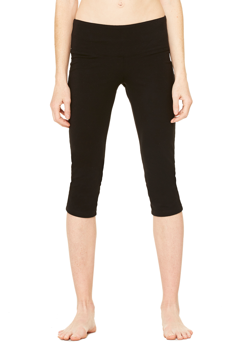 Women's Cotton Spandex Capri Fit Leggings | Bella-Canvas