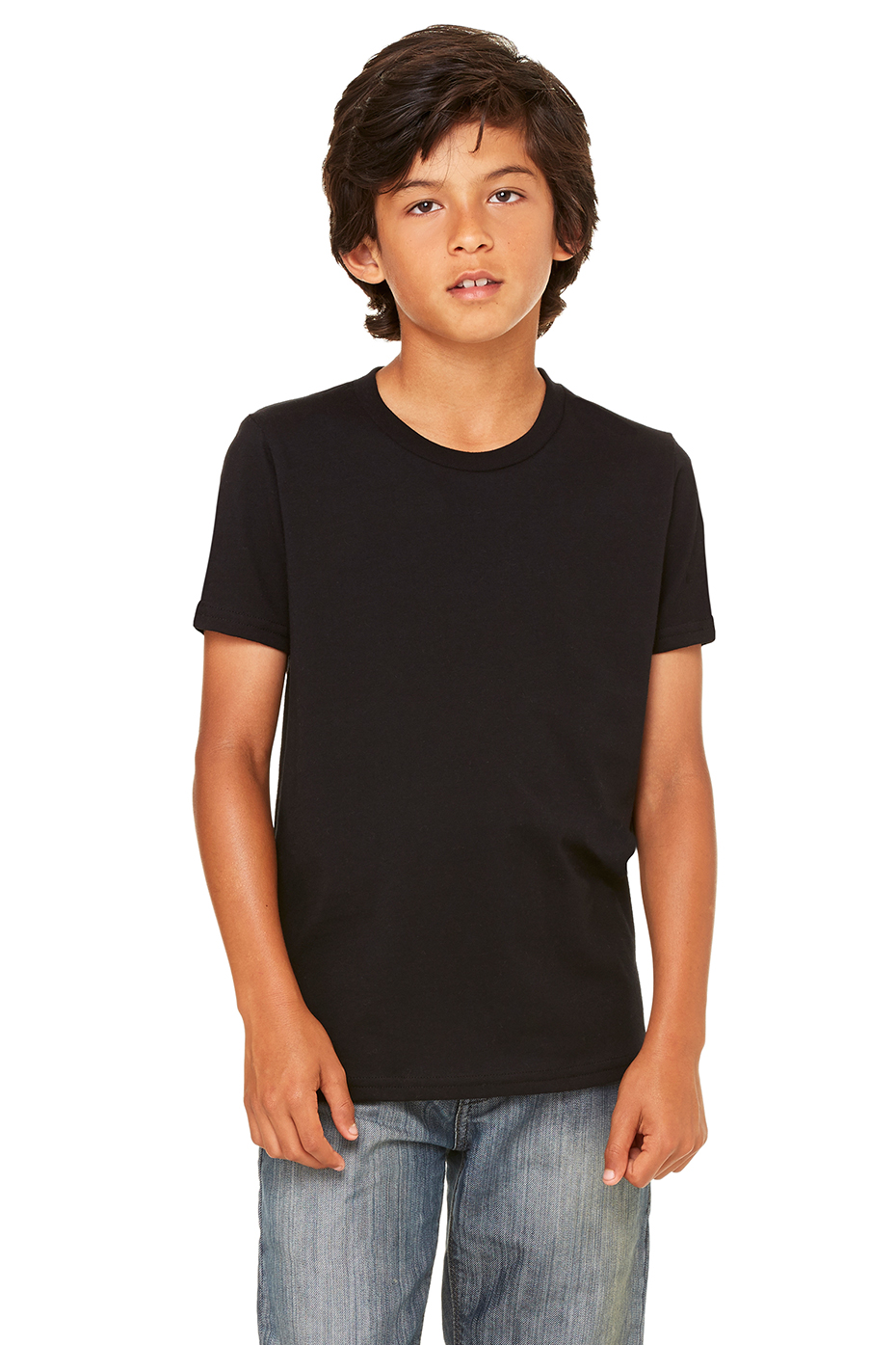Youth black t shirt - Youth Jersey Short Sleeve Tee