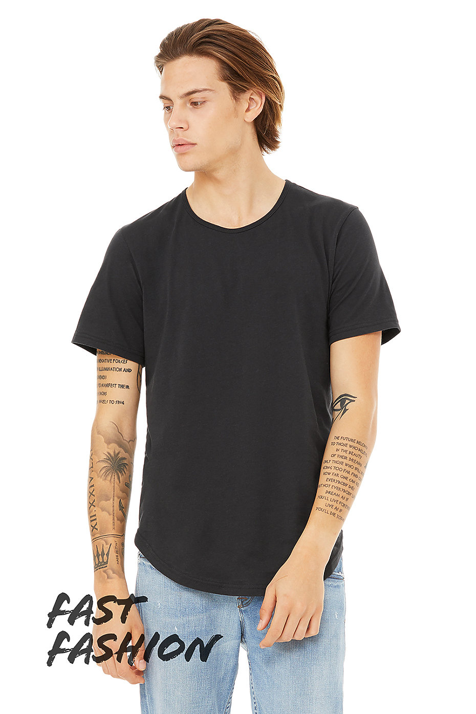 the cheapest cozy fresh hot-selling professional Jersey T Shirt | Curved Hem Tee | Unisex Short Sleeve T ...