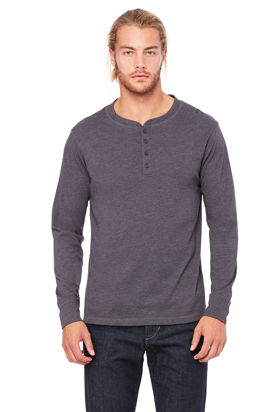 Henleys make you look approachable but mysterious. They make you look like you could take a woman out to dinner and then fix the car if it breaks down on the .