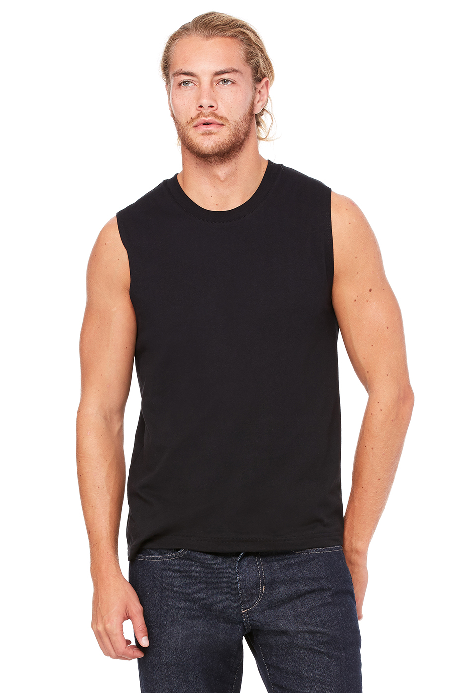 The Fruit of the Loom® Select Men's Muscle t-shirt is designed with premium Eversoft® ring spun cotton, and now features our NEW Dual Defense™ technology, providing wicking and odor protection.