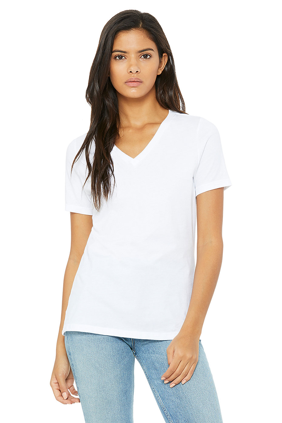 ef54e6d9ad354 Womens V Neck T Shirt | Jersey T Shirts | Wholesale Womens Clothing ...