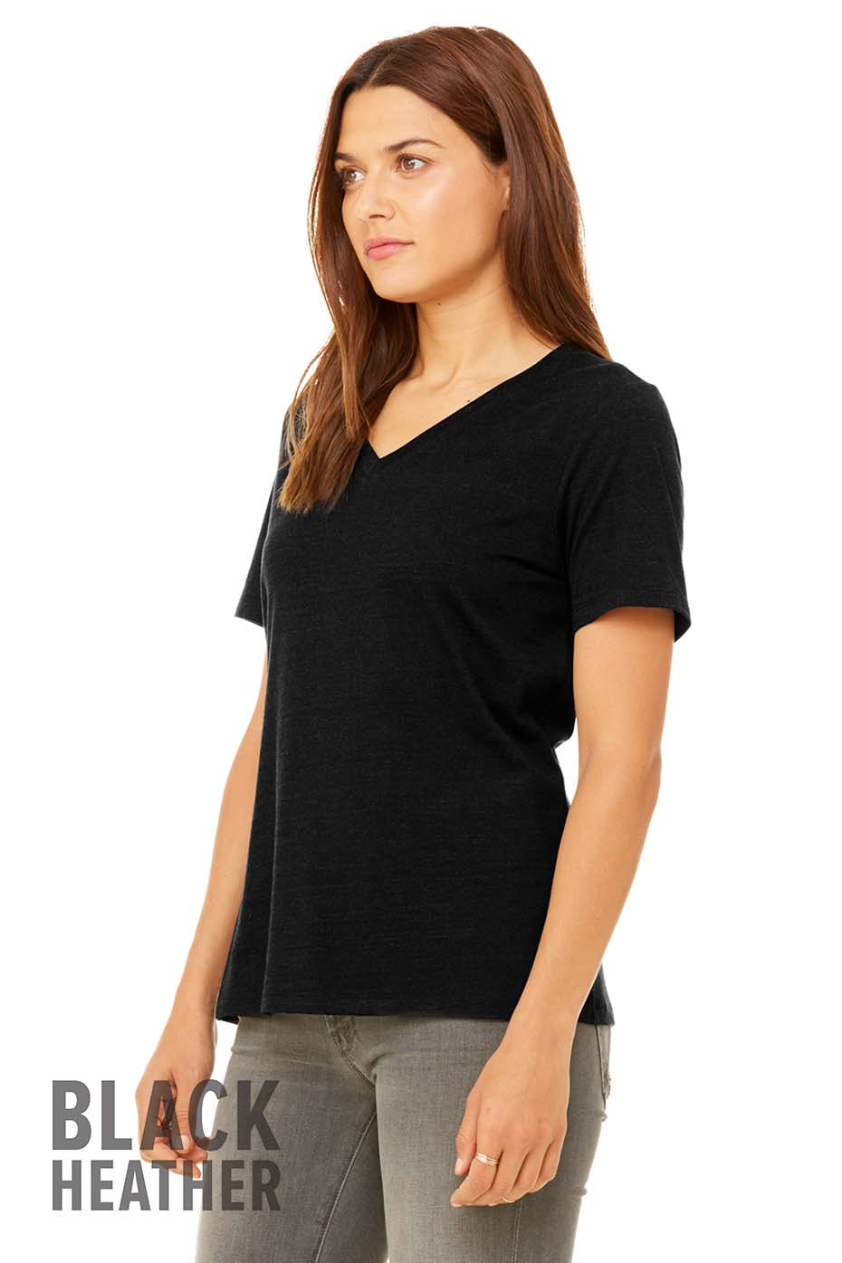 d64cf9d0c3cac 6405 Women s Relaxed Jersey Short Sleeve V-Neck Tee. Previous