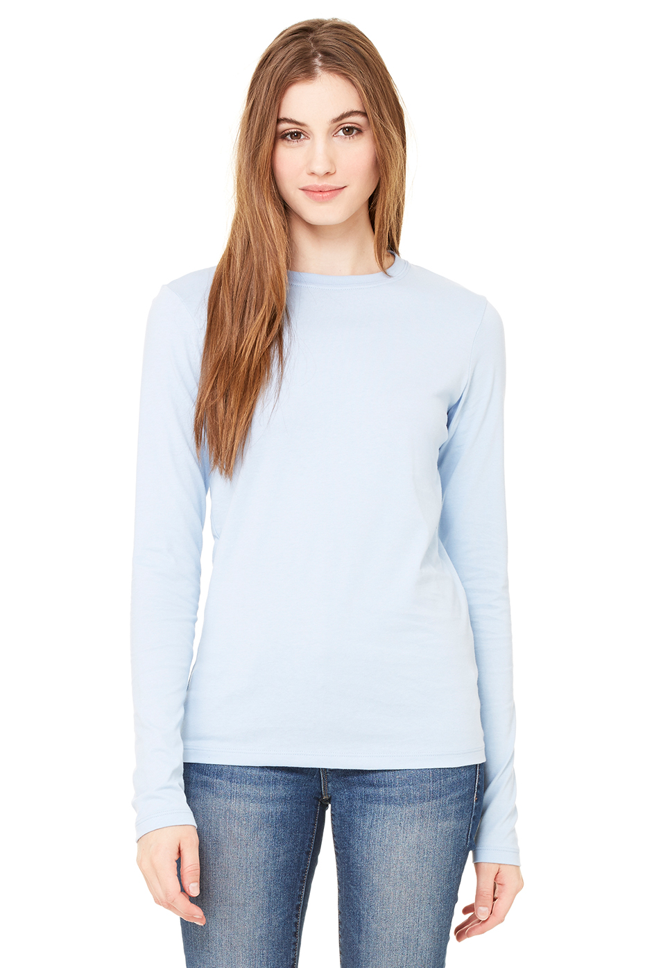 Women's Jersey Long Sleeve Tee | Bella-Canvas