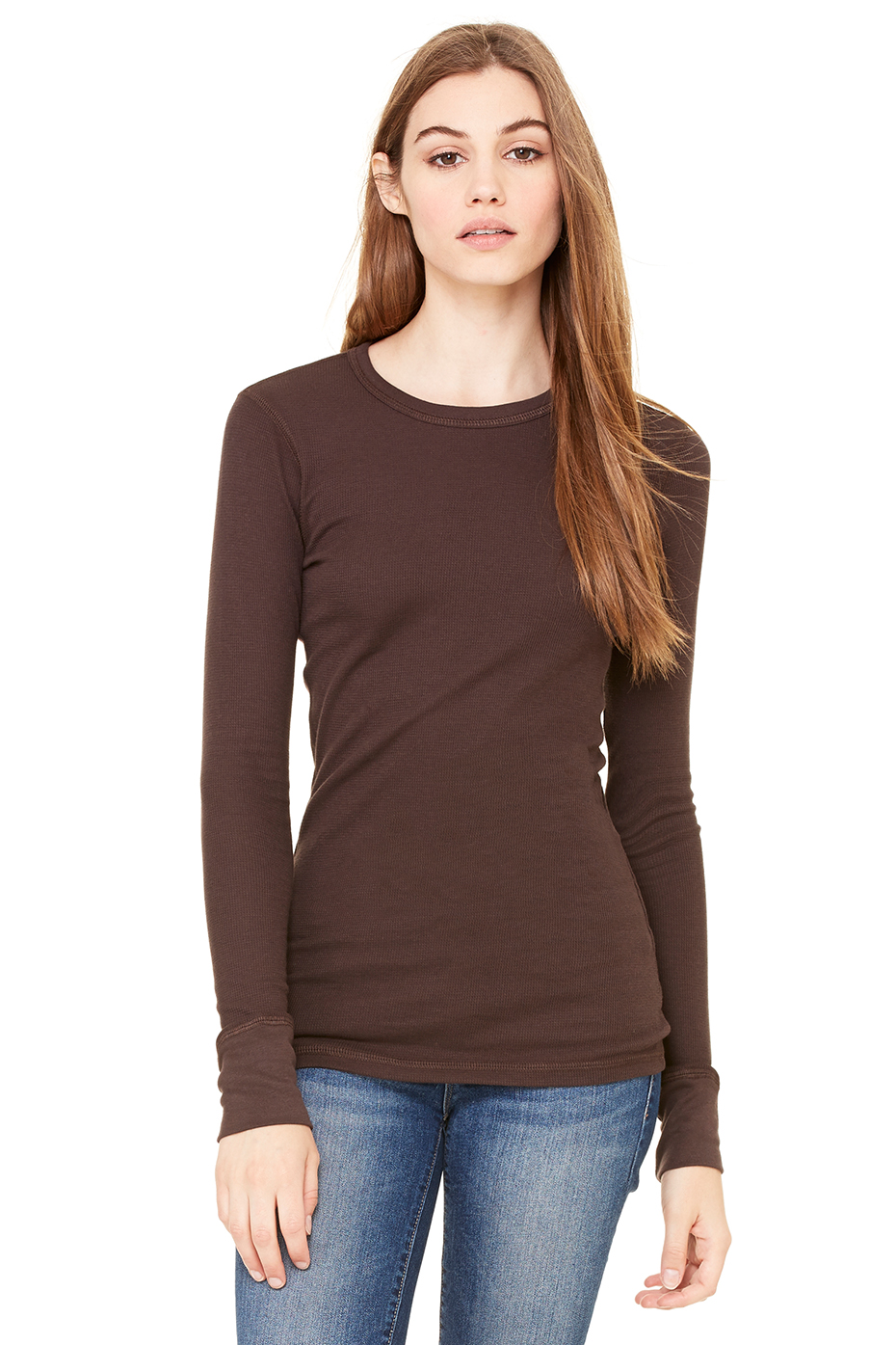 Women's Thermal Long Sleeve Tee | Bella-Canvas