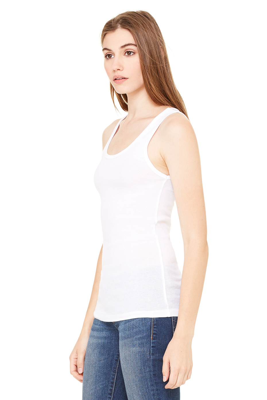 578c172ad5cbb6 8780 Women s Sheer Mini Rib Tank. Previous