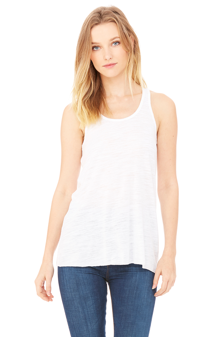 Women 39 S Flowy Racerback Tank Bella Canvas