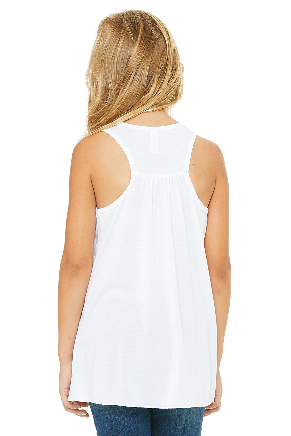 ac67249c40a7d 8800y Youth Flowy Racerback Tank. Previous