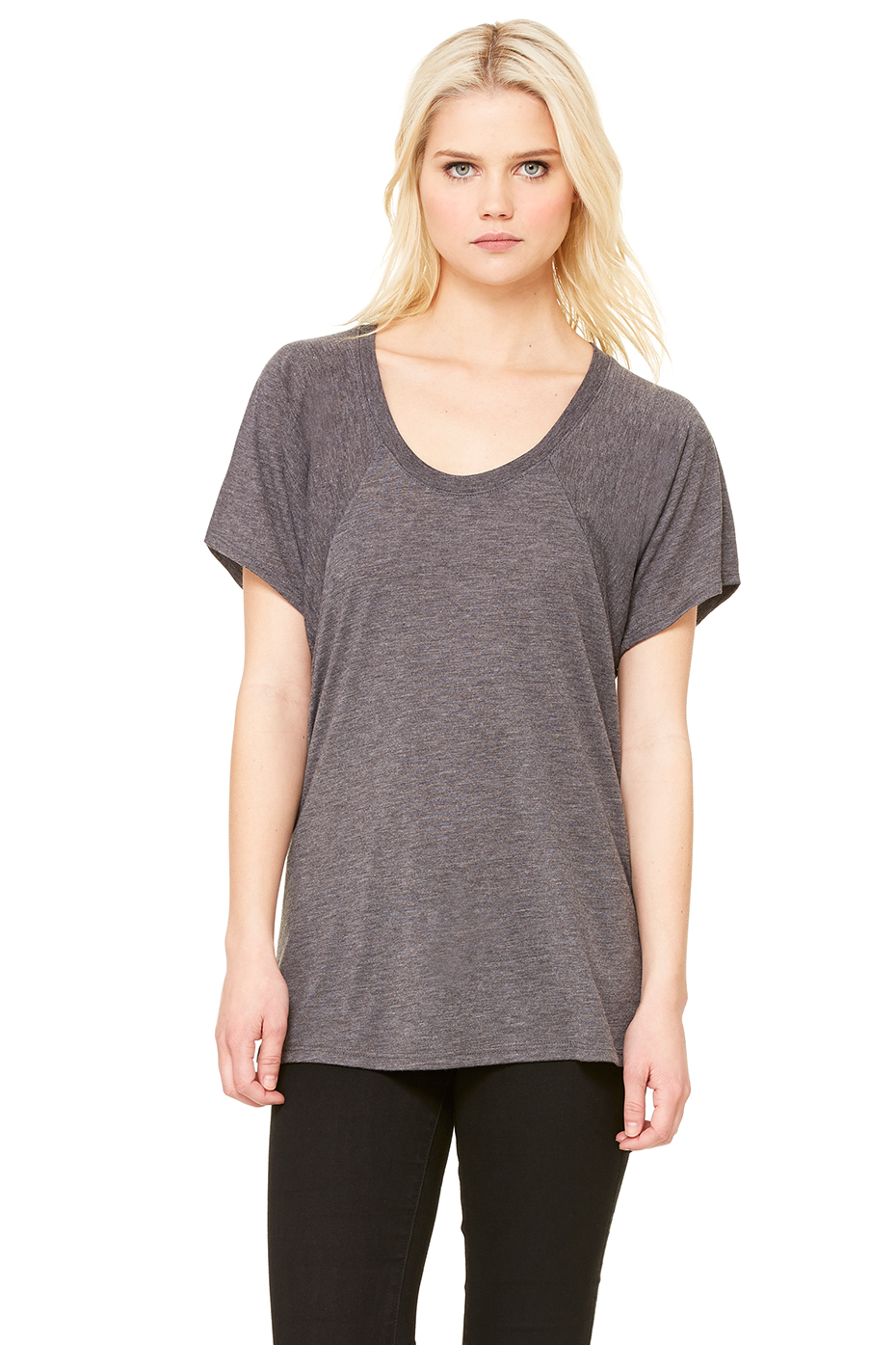 Women 39 S Flowy Raglan Tee Bella Canvas