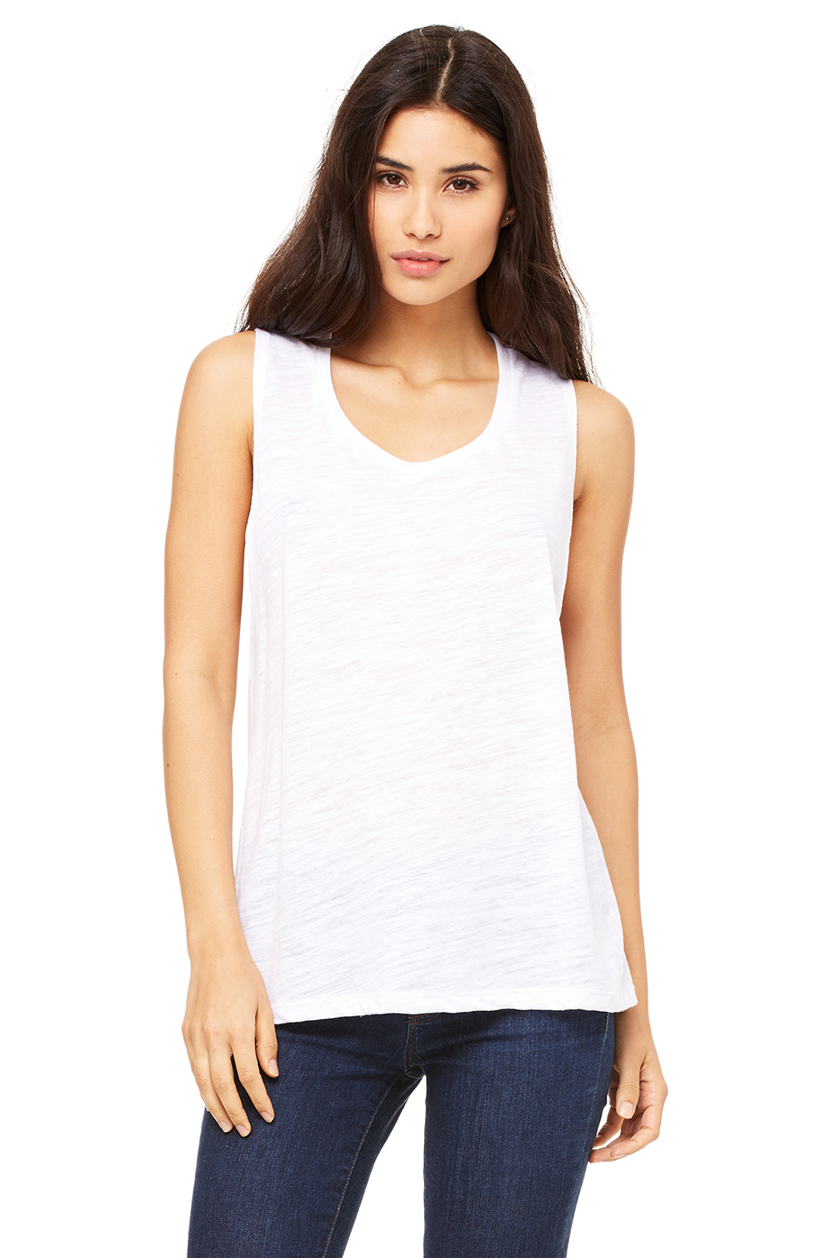 Product Features Essential cotton tank top is a key casual piece to wear layered or alone.