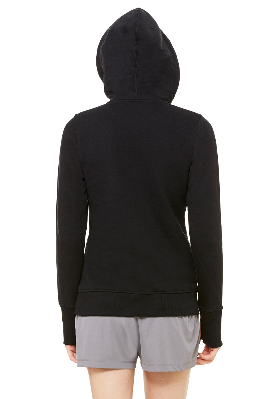 All Sport Women's Performance Fleece Full Zip Hoodie with Ru ...