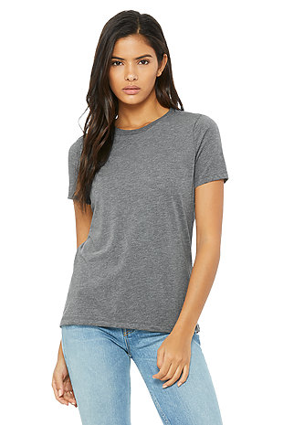 c2eec32fa82a More colors · 6400 Women's Relaxed Jersey Short Sleeve Tee · Triblend Short  Sleeve Tee