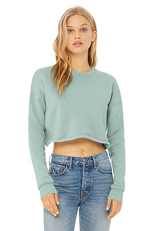 5d1b86458c205 Bulk, Plain Blank Crop Tops | Long Sleeve Crop Top | Wholesale ...