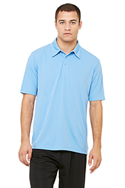 All Sport Unisex Performance 3-Button Mesh Polo