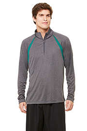 All Sport Unisex 1/4 Zip Lightweight Pullover w/ Insets