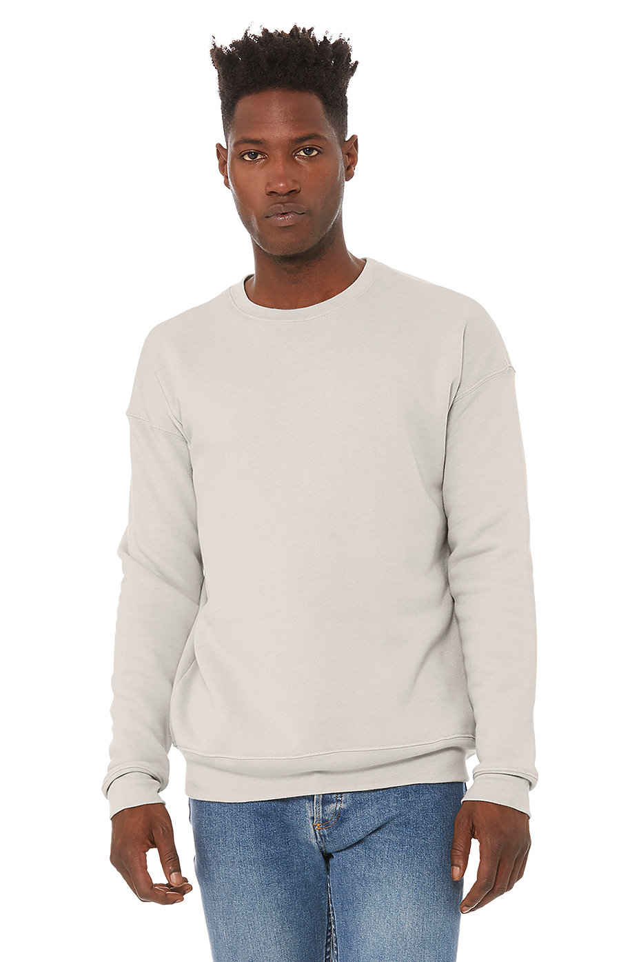 Mens Drop Shoulder Fleece 3945